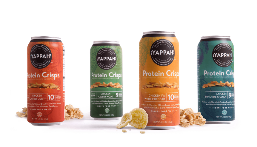 Yappah snacks flavours