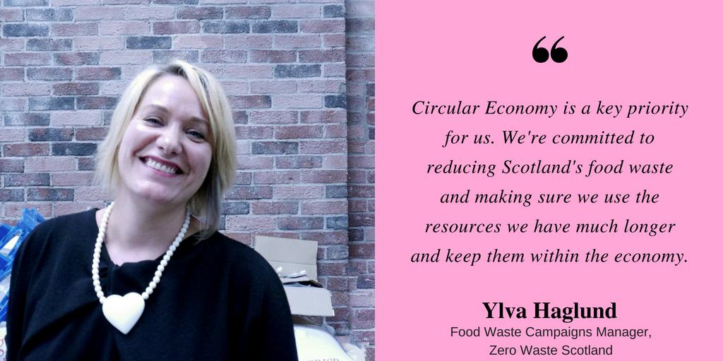 Ylva Haglund Zero Waste Scotland